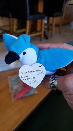 McDonald's beanie baby rocket the blue Jay for Sale in Temecula, CA