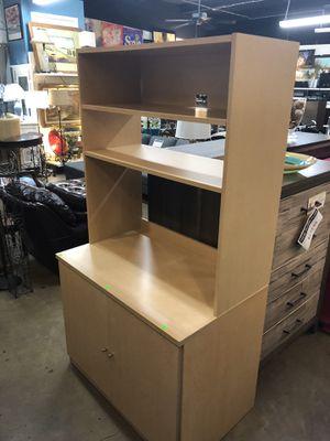 Light Wooden Storage Cabinet/ Display Shelf/ Office Organizer for Sale in Austin, TX