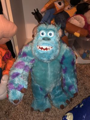 """Sully Monsters Inc 12"""" plush doll toy moveable arms Disney for Sale in Phoenix, AZ"""