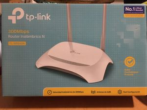 Tp link router in box selling $50 firm for Sale in Miami, FL
