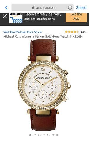 Michael Kors Women's Parker Gold-Tone Bracelet Watch for Sale in San Leandro, CA