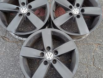 Three Volkswagen passat 16 inch stock wheels 5 on 112mm $50 each for Sale in Pico Rivera,  CA
