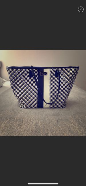 Kate spade large tote baby bag $35 some peeling on handles for Sale in Fontana, CA