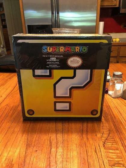 Super Mario Mystery Vinyl Figure Box Limited Edition Collectible