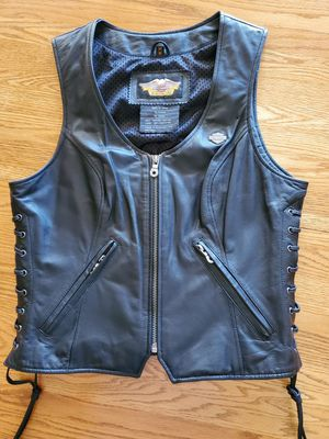 Harley Davidson Woman Leather Vest for Sale in Glendale, AZ