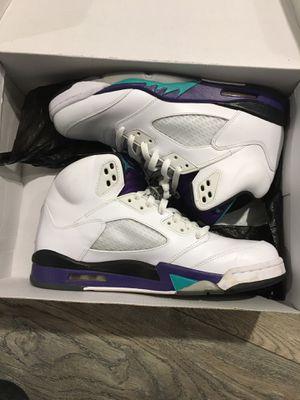 Jordan Grape 5's size 11 for Sale in Spring Valley, CA