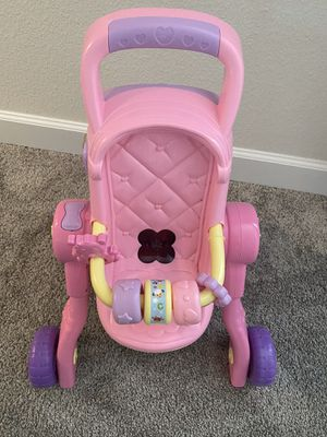 V tech 3 in 1 doll stroller for Sale in Kissimmee, FL