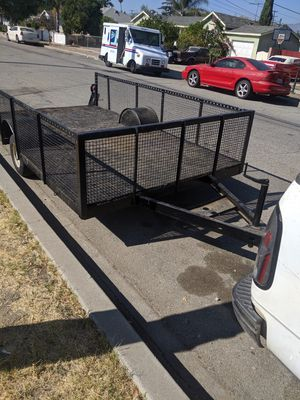 Utility trailer 5.3 x 11 for Sale in Ontario, CA