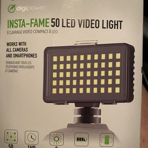 50 LED Video Light For smartphones NEW with Box for Sale in Tampa, FL