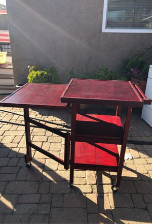 Foldable kitchen island. for Sale in Long Beach, CA