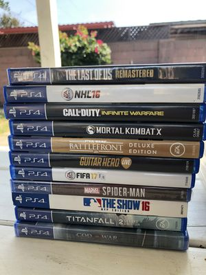 Various games PS4, PS3, PS2, PS1, PSP, Wii, GameCube, Xbox, XBOX360 for Sale in Pico Rivera, CA