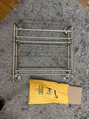 Stainless steel shelf and hardware glass shelves for Sale in Brick Township, NJ