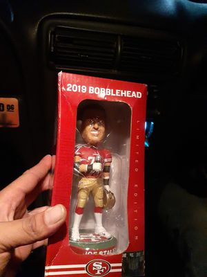 Staley bobblehead super bowl new new 2019 for Sale in E RNCHO DMNGZ, CA
