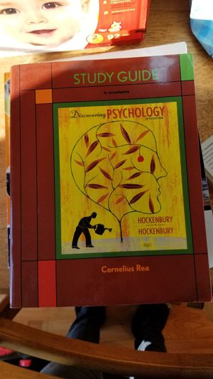 Discovering Psychology Cornelius Rea Hockenbury College Text Book for Sale in North Las Vegas, NV