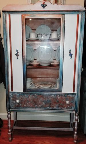 Antique China hutch for Sale in Garner, NC