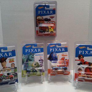 Disney : PIXAR HOT WHEELS SET $25 for Sale in Tacoma, WA