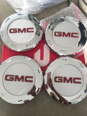GMC Center caps for Escalade rims for Sale in Ontario, CA