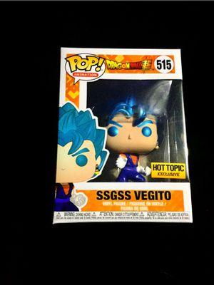 Dragon ball z Ssgss vegito pop for Sale in Bellflower, CA