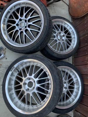 Rims with tires for Sale in Fresno, CA