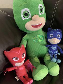 PJ Mask Stuffed Dolls  for Sale in Miami, FL