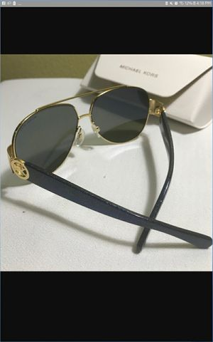 Black and Gold Michael Kors sunglasses-polarized for Sale in San Diego, CA