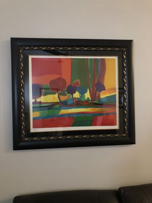 "Marcel Mouly FRAMED ""Somftuenze Automne"" Ltd Edition Signed/Numbered Lithograph w COA for Sale in Pompano Beach, FL"