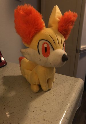 Pokemon fennekin plushie for Sale in Saint Petersburg, FL