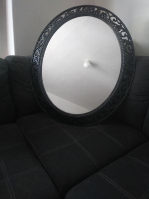 Oval hanging mirror for Sale in Saugus, MA