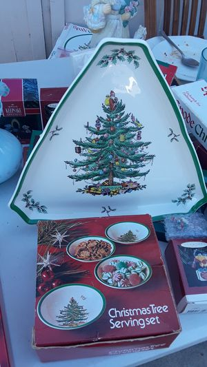Spode Triangular plate for Sale in Chino, CA