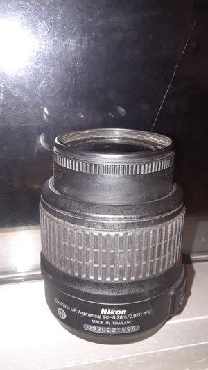 Nikon 18-55mm 1:3.5-5.6G VR AF-DX NIKKOR for Sale in Kailua, HI