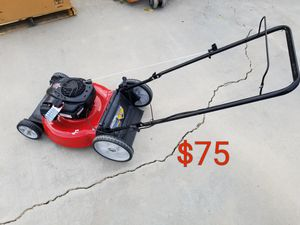 briggs and stratton lawn mower runs excellent for Sale in Littlerock, CA
