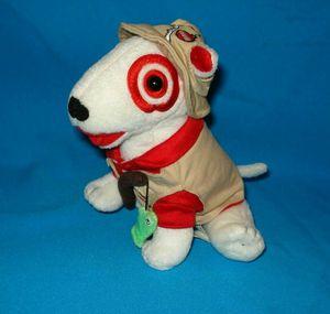 Target Dog Bullseye Fishing plush Dog for Sale in Riverside, CA