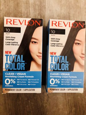 Revlon Hair color~Black~$6 each for Sale in Hartford, CT
