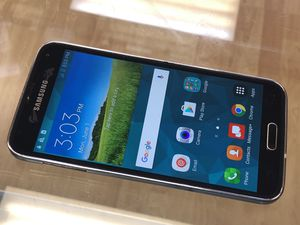 Unlocked Samsung Galaxy S5 Works With Any Sim. Verizon, T-Mobile, metro pcs, and Overseas. Charger included. Cash only. 120 firm for Sale in San Francisco, CA