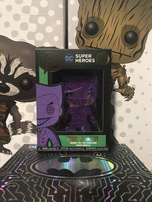Funko Pop Joker DC Chase Pin for Sale in Kingdom City, MO