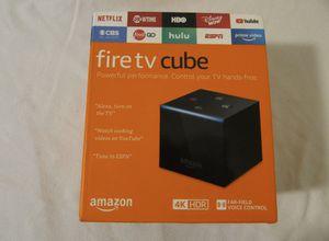Alexa fire tv cube.. for Sale in Murrieta, CA