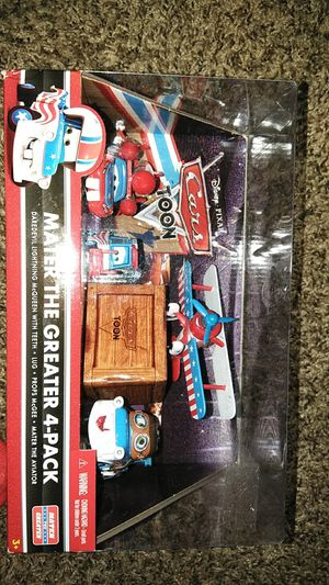 Cars mater the Greater collecter pack for Sale in Henderson, NV