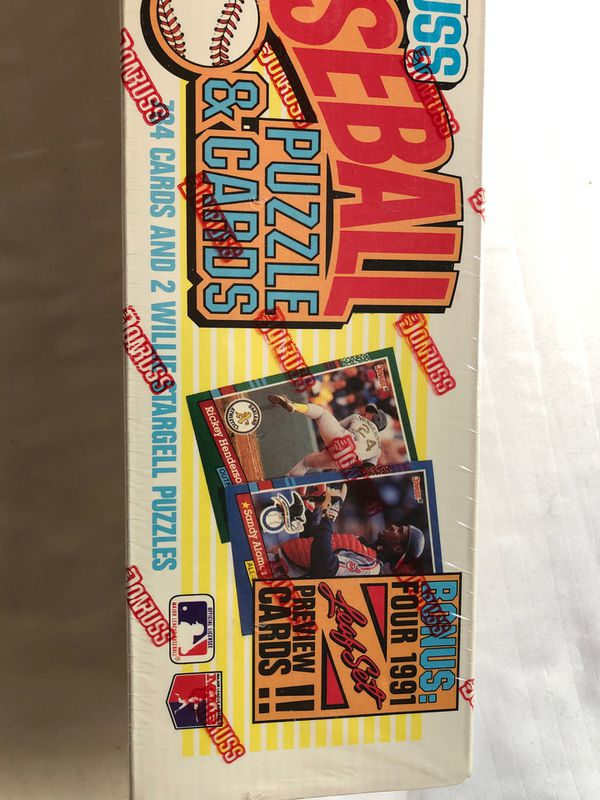 Donruss 1991 Baseball Card Complete Set 784 plus