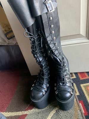 Fantasy platform boots size 5.5 for Sale in Sunnyvale, CA