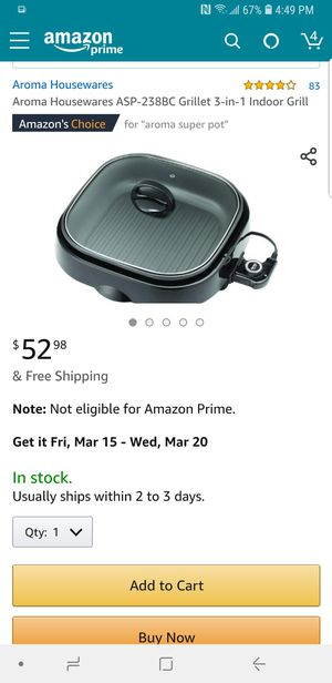 Grill super pot with the box. for Sale in Jersey City, NJ