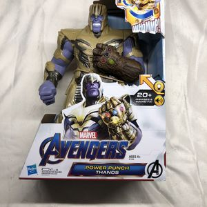 NEW Marvel Avengers: Endgame Power Punch 13.75 in Thanos, 20+ Sounds for Sale in Hallandale Beach, FL