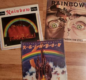 Vinyl Record Lot - Ritchie Blackmore's Rainbow for Sale in Murphy, TX