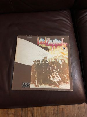 Led Zeppelin 2 Vinyl for Sale in Chicago, IL