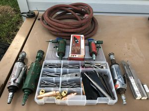 Pneumatic Straight and 90 End grinders for Sale in Missoula, MT