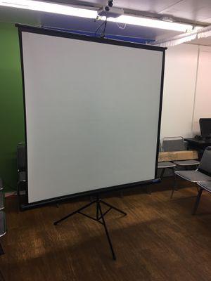 Tripod Projector Screen - Black for Sale in San Jose, CA