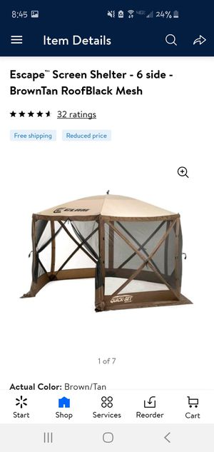 Quick Set Escape- Screen Shelter for Sale in Anaheim, CA