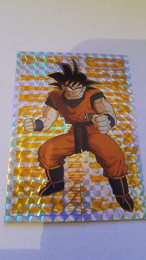 Dragonball Z Goku Card #G-2 Gokf Fiil Insert Card 1999 for Sale in Miami, FL