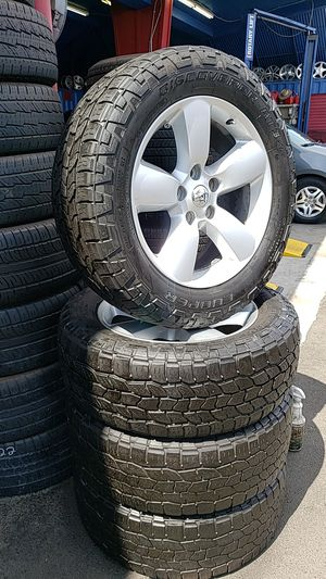 DODGE RAM WHEELS AND A/T TIRES for Sale in Compton, CA