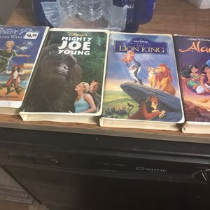 Disney's Aladdin lion king mighty Joe Young and Peter Pan still in the package for Sale in Lancaster, OH