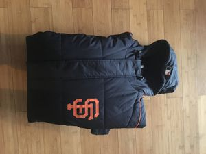 San Francisco Giants Majestic Coat like new size xl for Sale in Bloomingdale, IL